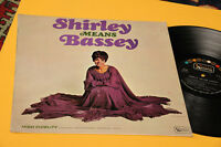 Shirley Bassey LP Means 1° St Orig Italy 1967 EX Rare Mono Version Laminated Co