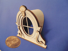 Dollhouse Miniature 1:24  Scale Parisian window dormer