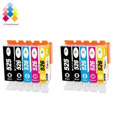 10 Ink Cartridges For Canon Pixma MG5150 MG5200 MG5250 MG5350 MG6150 MG8250