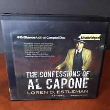 The Confessions of Al Capone Audio Book CD Set Loren D Estleman Fiction Thriller