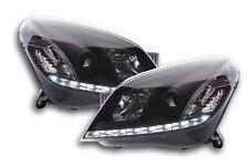 Paar Scheinwerfer Tuning Dayline Tagfahrlicht Opel Astra H 04'-10 schwarz