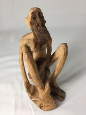 Hand Carved Cave Man (ref G061)