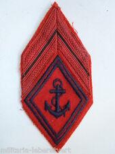 Losange tissu Losange 45 Patch modèle 1945 ARTILLERIE COLONIALE TDM ORIGINAL N°6