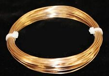 BRONZE ROUND WIRE SOLID 18GA  1 OZ  14 FT.(SOFT) CRAFT & WIRE WRAPPING