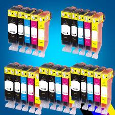 25 ink Cartridges for CANON PGI520 MP620 MP630 MP640 MP980 MP990 MX860 MX870 2