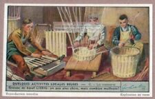 Old Belgian Basket Weavers Vannerie 65+ Y/O Trade Ad Card