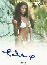 """James Bond Archives Final - Tula """"Girl at Pool"""" Autograph Card"""
