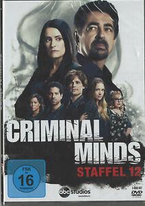 Criminal Minds - Staffel 12 [5 DVDs]