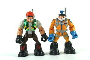 Rescue Heroes Fisher Price Action Figures Set of 2 Mattel