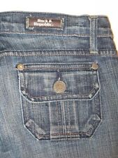 Rock & Republic Jimmy Jeans Low Bootcut Flap Pocs Sz 27  (Run Big-Sz 28/29 )