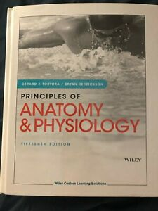 Principles of Anatomy and Physiology 15th edition Hardcover