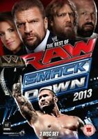 WWE - The Best of RAW and SmackDown 2013 (DVD, 2014, 3-Disc Set)