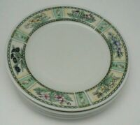 Farberware Chantilly Stoneware Salad Plate Set of Four