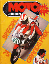 MOTO JOURNAL Spécial Grand Prix de Vitesse 1975 MOTOGP GODIER GENOUD CECOTTO