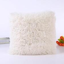 Plush Warm Winter Pillow Case Sofa Waist Throw Cushion Cover Home Decor HOT
