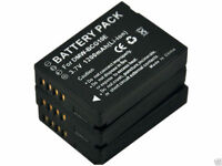 New 3 piece DMW-BCG10E Camera Batteries and Charger For DMC-TZ20 TZ7 TZ10K ZS1S