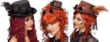 Steampunk Zylinder Steampunkhut Rokoko Hut Pirat Minihut Piratenhut Kostüm Kleid