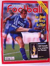 France Football du 29/08/1995; Espagne; Cruyff/ 100 français à la conquête de