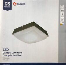 Lithonia Lighting LED 11000 lúmenes área Luminaria dosel techo 4000K Brillante