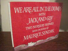1st Edition WE ARE ALL IN DUMPS WITH JACK AND GUY Maurice Sendak FIRST PRINTING