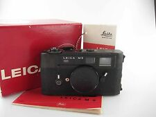 Very Good Leitz Leica  M5 M 5 with makers box sehr schöner Zustand  81008