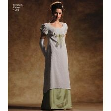 custome hand stitched handmade jane austen regency dress
