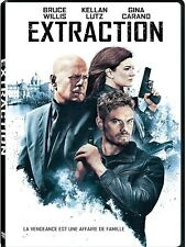 NEW DVD- EXTRACTION - Bruce Willis, Kellan Lutz, Gina Carano , D.B. Sweeney,