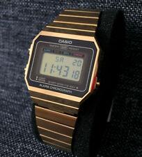 CASIO VINTAGE COLLECTION A700WEG-9AEF GOLD DIGITAL STOPWATCH BRAND NEW