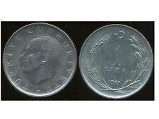 TURQUIE  1  lira 1968