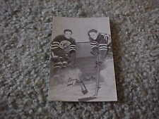 1948 Hockey Exhibit Sports Champions Paper Advertising Card Chicago Blackhawks
