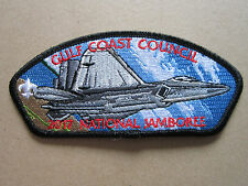 Gulf Coast Military Style 2 BSA Cloth Patch Badge Boy Scouts Scouting (L2K)