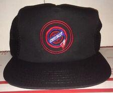 Chrysler Mesh Trucker Vintage RED Logo Hat Corporation Dodge Ram Muscle Car Cap
