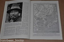 1942 magazine article about Japanese in China, early WWII, Russian allies