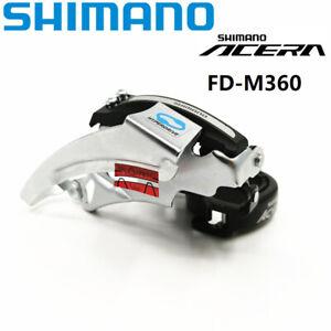 Shimano Acera FD-M360 7/8/21/24 Speed Front Derailleur 31.8/34.9mm New