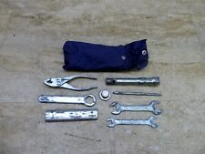 1984 Honda Shadow VT500 H1525. OEM tool kit and tools