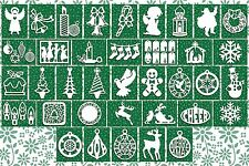 Brother ScanNCut Christmas card topper templates CD1029