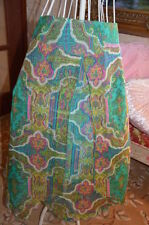 Paisley Below Knee A-Line Skirts for Women