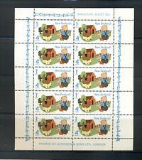 New Zealand #B93a  (1975 Health sheet) VFMNH CV $15