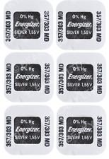 Quality Silver Oxide Battery 1.55v to fit NIKON FM FE FA FG F3 Cameras [6 PACK]