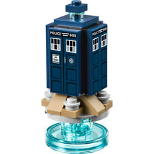 LEGO Doctor Who - Original - The Tardis w/ Stand - New (pieces removed from set)
