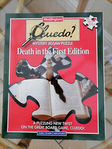 Cluedo Mystery Jigsaw Puzzle: Death in the First Edition + Magnifying Glass!