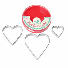 Christmas Hearts Pastry & Cookie Cutters
