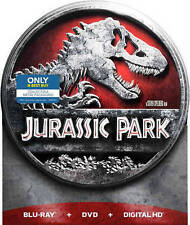 NEW Jurassic Park (Blu-ray/DVD, Includes Digital Copy - Tin Case Free Shipping