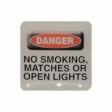 Case Sticker Danger No Smoking...