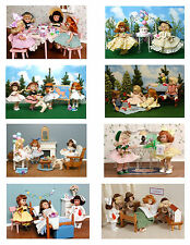 Vintage Ginny Doll 'Birthday, Get Well & Thank You' Greeting Cards