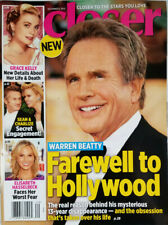 Closer Magazine Dec 2014 - Warren Beatty - Grace Kelly - Sean Penn No Label NM