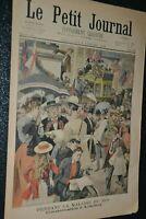 Le petit journal Supplément illustré N°607 / 6-7-1902 / Maladie du Roi
