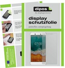 6x Nokia 7 Screen Protector Protection Anti Glare dipos