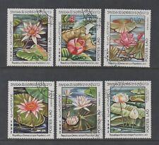 LAOS 1982 WATER LILIES (SG533/8) *VFU/CTO*