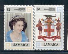 JAMAICA 550-51 SG573-74 MNH 1983 Visit of QEII set of 2 Cat$7